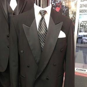 Other - Vintage Double Breasted Tuxedo Jacket